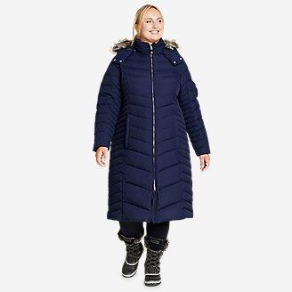 Women's Sun Valley Down Duffle Coat in Blue