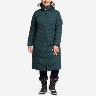 Women's Sun Valley Down Duffle Coat in Green