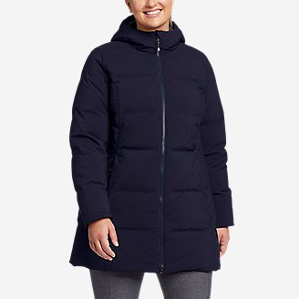Women's Glacier Peak Seamless Stretch Down Parka in Blue
