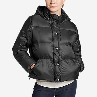 Women's CirrusLite Down Puffer Jacket in Black