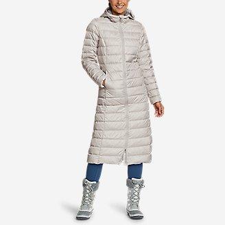 Women's CirrusLite Down Duffle Coat in Gray