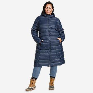 Women's CirrusLite Down Duffle Coat in Blue