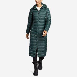 Women's CirrusLite Down Duffle Coat in Green
