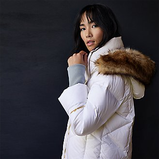 Women's Centennial Collection Down Parka in White