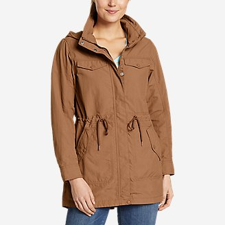 Women's Atlas Utility Trench in Brown