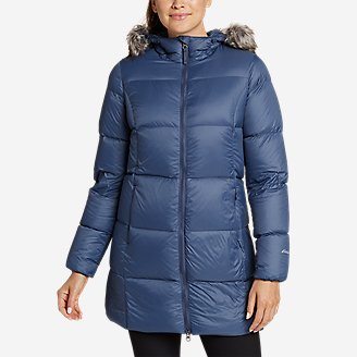 Women's CirrusLite Luna Peak Down Parka in Blue