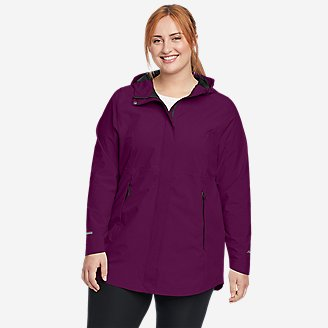 Women's Cloud Cap Stretch 2.0 Parka in Purple