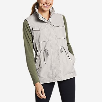 Women's Atlas Utility Vest in Gray