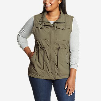Women's Atlas Utility Vest in Green