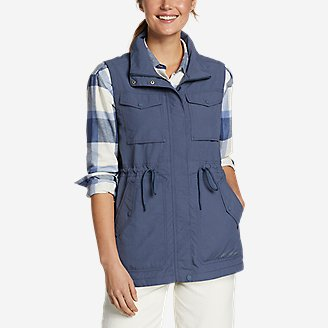 Women's Atlas Utility Vest in Blue