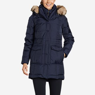Women's Yukon Classic Down Parka in Blue
