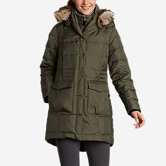 Women's Yukon Classic Down Parka in Green