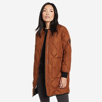 Women's 2020 Skyliner Model Down Parka in Red