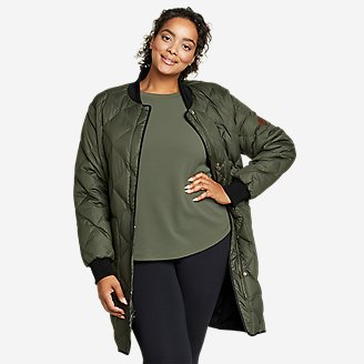 Women's 2020 Skyliner Model Down Parka in Green