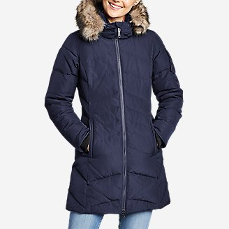Women's Sun Valley Arctic Down Parka in Blue