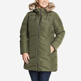 Women's Sun Valley Arctic Down Parka in Green