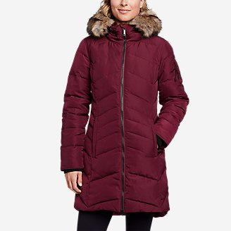 Women's Sun Valley Arctic Down Parka in Red