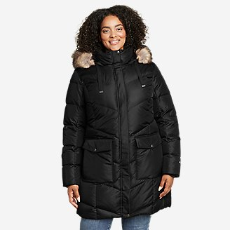 Women's Lodge Cascadian Down Parka in Black