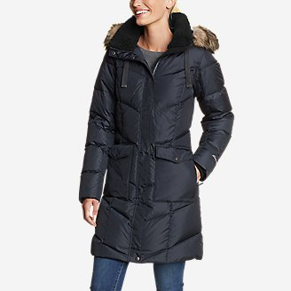 Women's Lodge Cascadian Down Parka in Blue