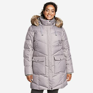 Women's Lodge Cascadian Down Parka in Gray
