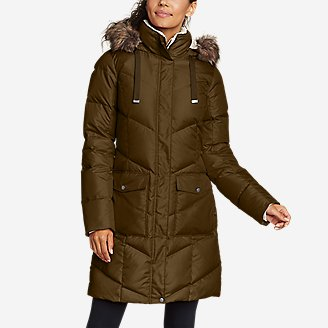 Women's Lodge Cascadian Down Parka in Green