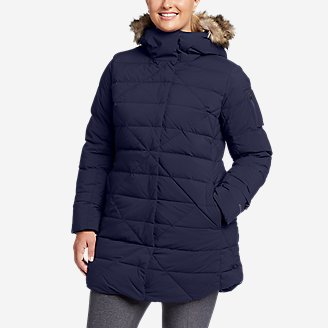 Women's Sun Valley Frost Down Parka in Blue