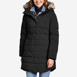 Women's Sun Valley Frost Down Parka in Black
