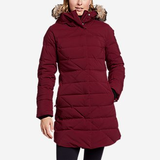 Women's Sun Valley Frost Down Parka in Red