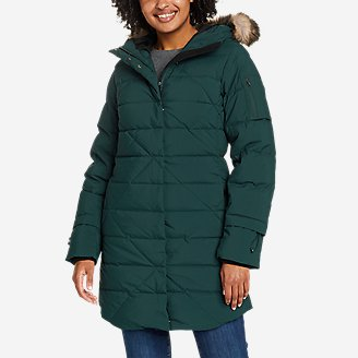 Women's Sun Valley Frost Down Parka in Green