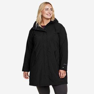 Women's Port Townsend Trench Coat in Black