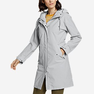 Women's Port Townsend Trench Coat in Beige