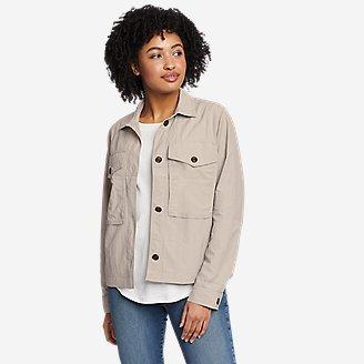 Women's Ravenna Shirt Jac in Gray