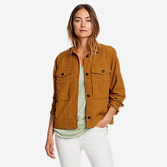 Women's Ravenna Shirt Jac in Brown