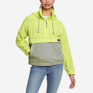 Women's WindPac Anorak in Green