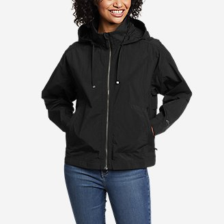Women's WindPac Jacket in Black