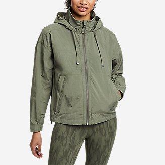 Women's WindPac Jacket in Green