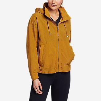 Women's WindPac Jacket in Yellow
