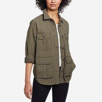 Women's Ryderwood Shirt-Jac in Green