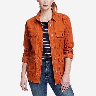 Women's Ryderwood Shirt-Jac in Orange