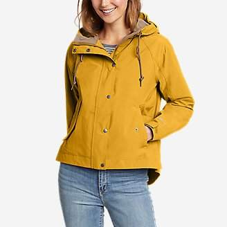 Women's Port Townsend Jacket in Yellow