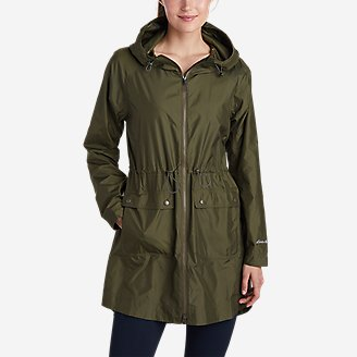 Women's Medina Wind Parka in Green