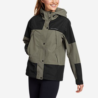 Women's Rainfoil Ridge Jacket in Green