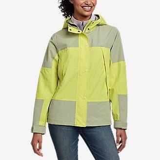 Women's Rainfoil Ridge Jacket in Green