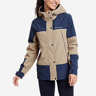 Women's Rainfoil Ridge Jacket in Gray