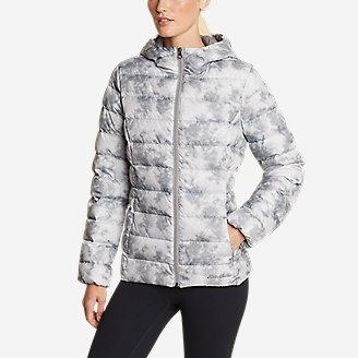 Women's CirrusLite Down Hooded Jacket in White
