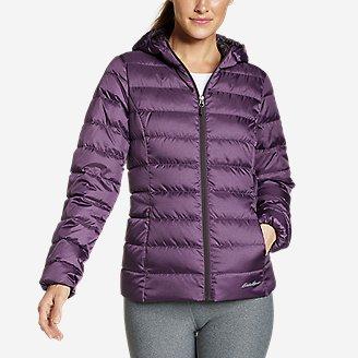 Women's CirrusLite Down Hooded Jacket in Purple