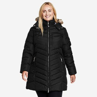 Women's Sun Valley Down Parka in Black