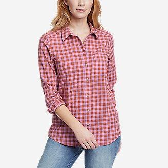 Women's Packable Long-Sleeve Shirt in Purple
