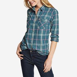 Women's Stine's Favorite Flannel Shirt - Classic in Green