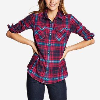 Women's Stine's Favorite Flannel Shirt - Classic in Blue